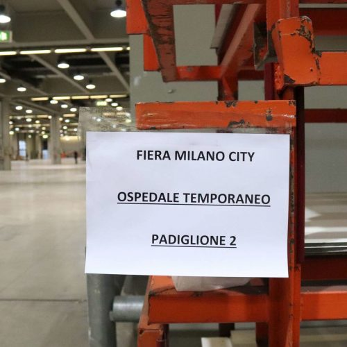 [COVID-19] FieraMilanoCity Repurposed into a Temporary Hospital in 10 Days