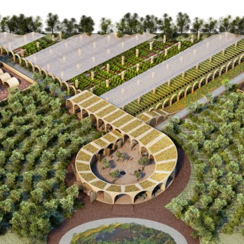 Farms Not Arms: Improving Farm Design to End World Hunger