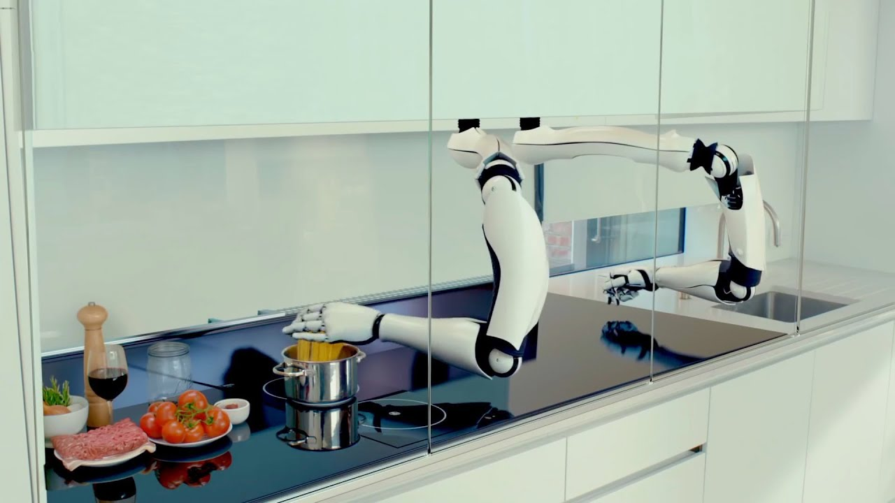On the Market: Latest Version of the World's First Robotic Kitchen with Luxury or Modern Options