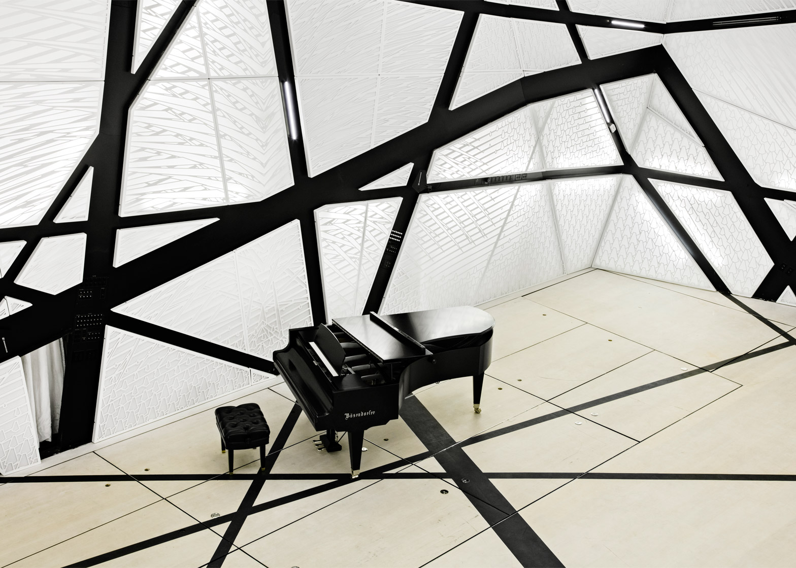 "Acoustically Transparent ""Skin"""