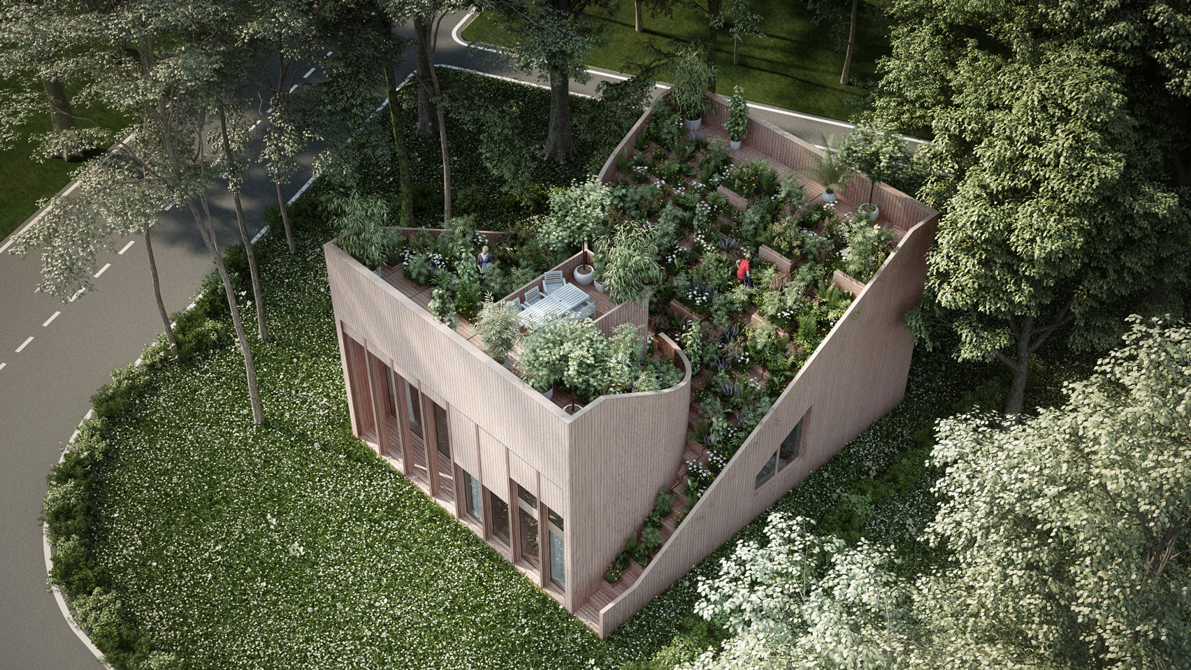 Architectural Dream for a Self-sufficient Home